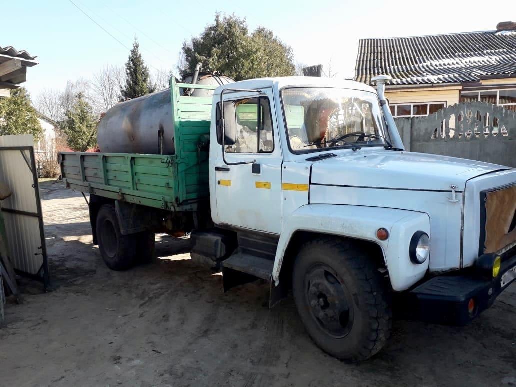 Цистерна на ГАЗ