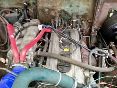 Двигатель модели ЗМЗ-40620