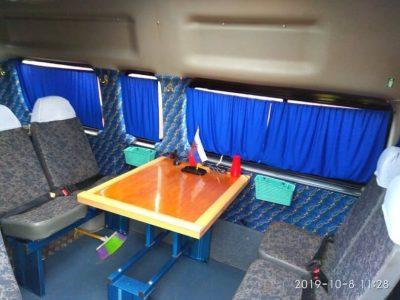 LDV Maxus установка стола