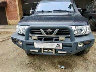 Nissan Patrol бамперы