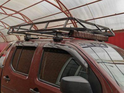 Усиленный багажник для Nissan Navara