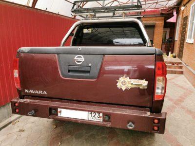 Задний усиленный бампер для Nissan Navara